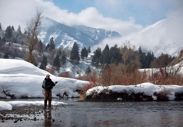 Winter Provo River Fishing