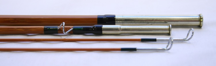 Granger Victory Bamboo Fly Rod ferrules after