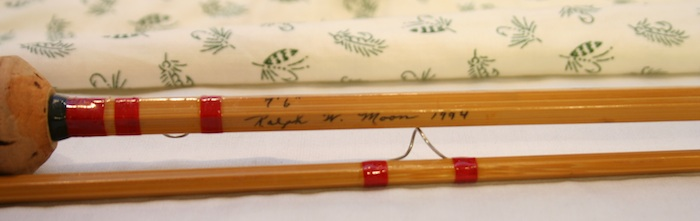 Ralph Moon 5wt Bamboo Fly Rod pic 2
