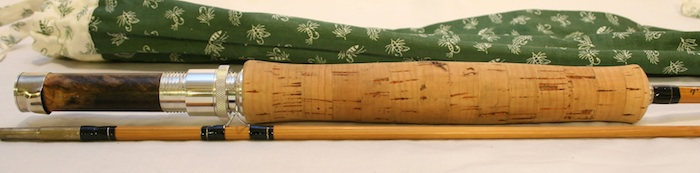 Ralph Moon Spiral Built Bamboo Fly Rod pic 1