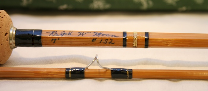 Ralph Moon Spiral Built Bamboo Fly Rod pic 2