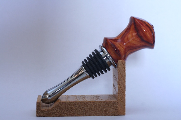 Bottle Stopper 415 Tulipwood